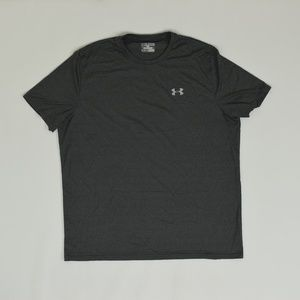 Under Armour Big & Tall 2X Gray   Casual T Shirt P